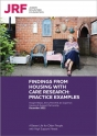 Findings from housing with care research: Practice examples